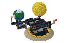 Earth, Moon and Sun Orrery | JK Brickworks